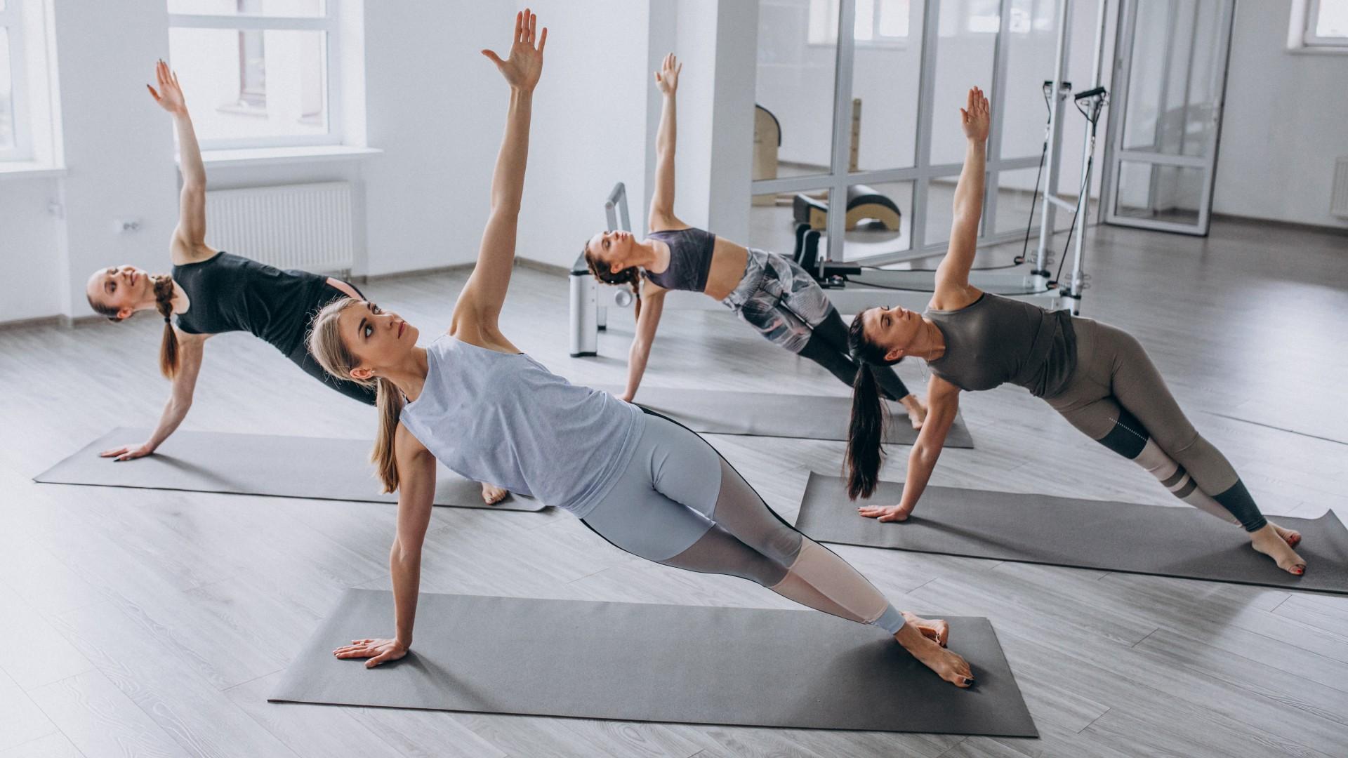 sporty jesienne - joga